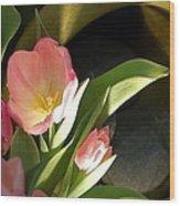 Tulip Lights Wood Print