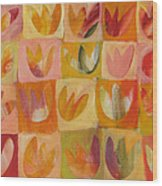 Tulipworld Wood Print