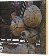 Tumacacori Gourds Wood Print