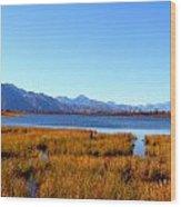 Tundra Lake Wood Print