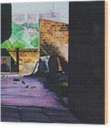 Tunnel Vision 4 Wood Print