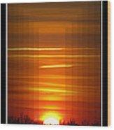 Tunnle Vision Wood Print