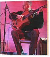 Turab Guitar Player Victor Kawas Wood Print