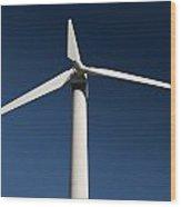 Turbine Wood Print