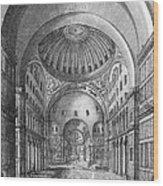 Turkey: Hagia Sophia, 1680 Wood Print