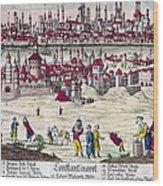 Turkey: Istanbul, C1820s Wood Print