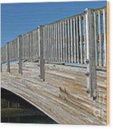 Turkey Point Bridge Wood Print