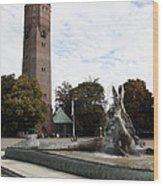 Turm Trelleborg Wood Print by Falko Follert