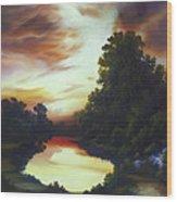 Turner's Sunrise Wood Print