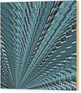 Turquoise Abstract Wood Print