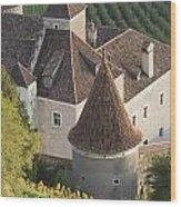 Turrets Schloss Goldrain Wood Print