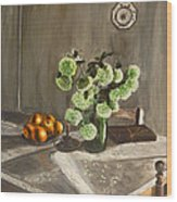 Tuscan Kitchen Wood Print by Demian Legg