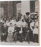 Tuskegee Institute Faculty Wood Print