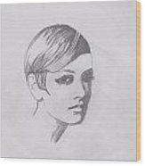 Twiggy Wood Print