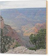 Twilight At Grand Canyon Wood Print