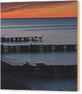 Twilight Colors Wood Print