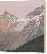 Twilight San Juan Mountains Wood Print
