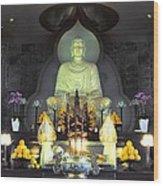 Twisted Buddha Wood Print