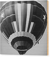 Two Star Balloon Wood Print