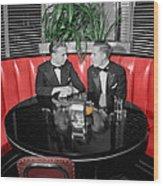 Two Tuxedos Wood Print