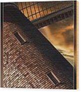 Two Window Mill Wood Print