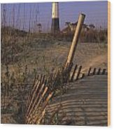 Tybee Island Lighthouse - Fs000812 Wood Print