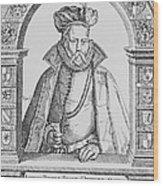 Tycho Brahe Wood Print