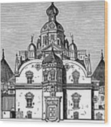 Tycho Brahes Observatory Wood Print