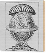 Tycho's Great Brass Globe Wood Print by Science, Industry & Business Librarynew York Public Library