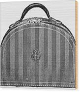 Typewriter Case, 1889 Wood Print