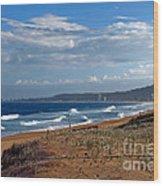 Typical Australian Beach Wood Print