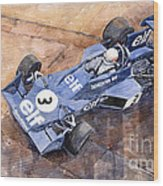 Tyrrell Ford 007 Jody Scheckter 1974 Swedish Gp Wood Print