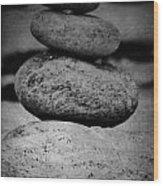 U R My Rock Wood Print