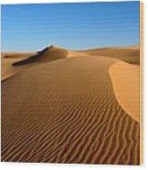 Ubari Sand Sea, Libyan Sahara Wood Print