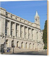 Uc Berkeley . Sather Tower Campanile . Wheeler Hall . South Hall Built 1873 . 7d10043 Wood Print