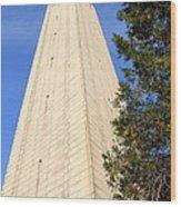 Uc Berkeley . Sather Tower . The Campanile . Clock Tower . 7d10085 Wood Print