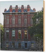 Uc Berkeley . South Hall . Oldest Building At Uc Berkeley . Built 1873 . 7d10053 Wood Print