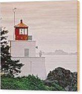 Ucluelet Lighthouse Wood Print