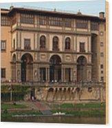 Uffizi Gallery Wood Print