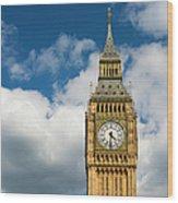 Uk, England, London, Big Ben Wood Print
