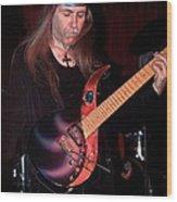 Uli Jon Roth And His Sky Guitar Wood Print