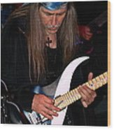 Uli Jon Roth At The Grail 2008 Wood Print