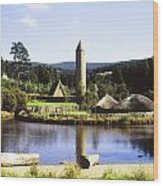 Ulster History Park, Omagh, County Wood Print