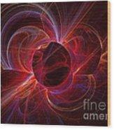 Ultraviolet Wood Print