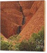 Uluru Australia 4 Wood Print
