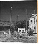 Un Observation Post Manned By Argentinian Troops Argcon Op 40 In The Buffer Zone Cyprus Wood Print