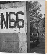 Un Sector 2 City Troop And Post Un66 In The Restricted Area Of The Un Buffer Zone Nicosia Cyprus Wood Print