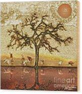 Under The California Sun Wood Print