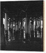 Under The Old Boardwalk Wood Print