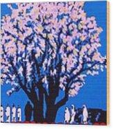 Under The Yum Yum Tree Wood Print